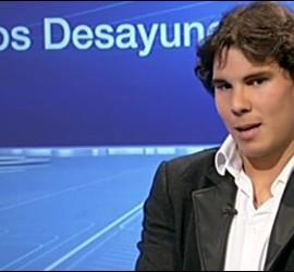 Captura 4 de la entrevista a Rafael Nadal en TVE.