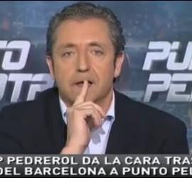 Captura de Punto Pelota con Josep Pedrerol.