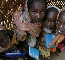 Niñas de Sudán del Sur