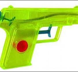 Pistola de agua.