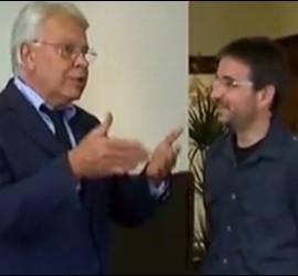 Felipe González y Jordi Évola