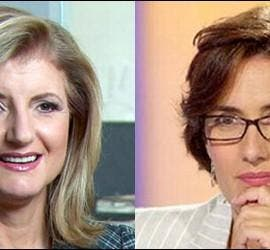 Arianna Huffington y Montserrat Domínguez.