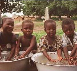 Niños de Africa.