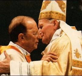 El Padre Maciel y Juan Pablo II