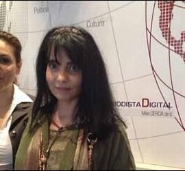 Helena Cosano e Isabel Camblor.