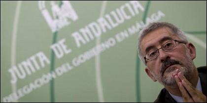 El consejero de Economía, Innovación y Ciencia de la Junta de Andalucía, Antonio Ávila.