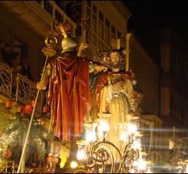 Imagen de la Semana Santa de Viveiro (Galicia) que opta a ser declarada Fiesta de Interés Turístico Internacional.