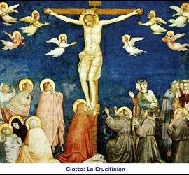 La crucifixión de Giotto