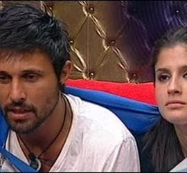 Captura de Hugo y María en 'Gran Hermano'.
