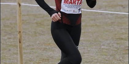 La atleta Marta Domínguez.
