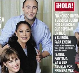 Portada de la revista Hola con Kiko Rivera, Jessica Bueno y la Pantoja.