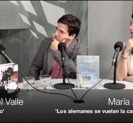 Ignacio del Valle, Lorenzo Rodríguez y María Zaragoza en la tertulia de la revista 'Culturamas'.