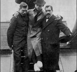 H. Bride, superviviente del Titanic (radio telefonista)