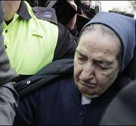 La monja Sor María Gómez Valbuena.