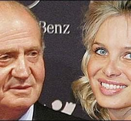 El Rey Juan Carlos y Corinna zu Sayn-Wittgenstein.