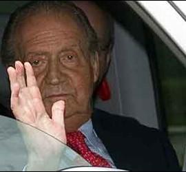 El Rey Juan Carlos de Borbón.