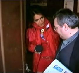 Aída Nizar durante un reportaje en 'Sálvame'