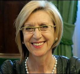 Rosa Díez, diputada y presidenta de UPyD.