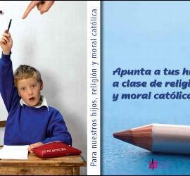 Clase de Religion en la escuela pública