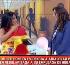 Aída Nizar y Paz Padilla.