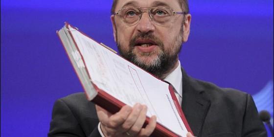El presidente del Parlamento Europeo, el alemán Martin Schulz.