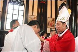 Consagración episcopal en China