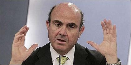 Luis de Guindos, responsable de Economía.