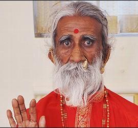 El yogui Prahlad Jani.
