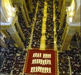 Ordenaciones de curas del Opus Dei en Roma