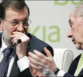 Rajoy y Rato.