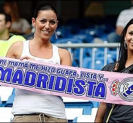 Hinchas del Real Madrid.