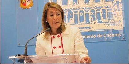 Elena Nevado.