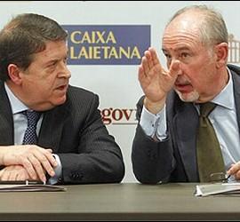 José Luis Olivas y Rodrigo Rato.