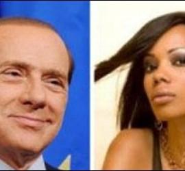 Silvio Berlusconi y Marysthelle Polanco.