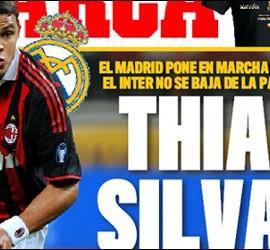Portada de 'Marca' con Thiago Silva.