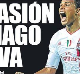 Portada de 'Mundo Deportivo' con Thiago Silva.