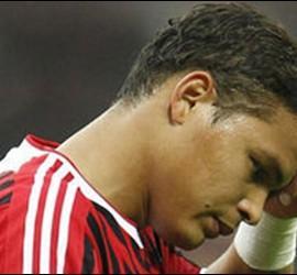 Thiago Silva, jugador del Milan.