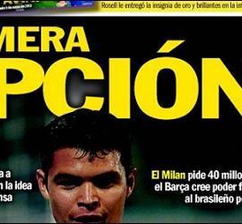 Portada de 'Sport' con Thiago Silva.