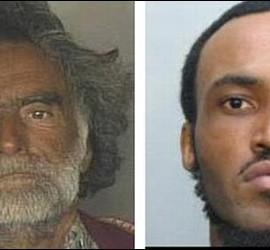 Ronald Poppo, la víctima y Ruby Eugene, el canibal.