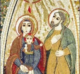 Icono de Rupnik para el Encuentro de Familias de Milán