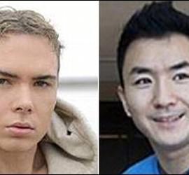 Luka Rocco Magnotta y Lin Jun.