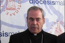 Jesús Catalá, obispo de Málaga