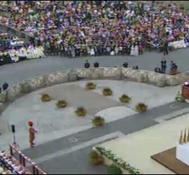El Corpus, presidido por el Papa, en la explanada de Letrán