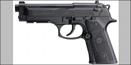 Una pistola Beretta.