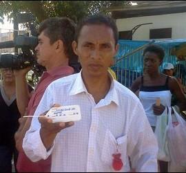 El padre de Kelvin Santos