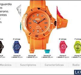 Captura de pantalla de la promoción de La Vanguardia