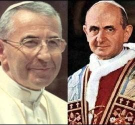 Juan Pablo I y Pablo VI
