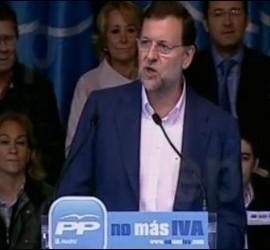 Mariano Rajoy. Captura de Europa Press.