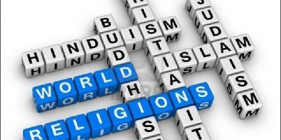 las cinco mas grandes religiones: