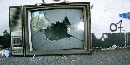 Televisión, televisor, televidentes, audiencia y medios.